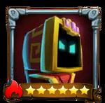 Silver Hero Icon