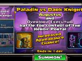 Paladin versus Dark Knight