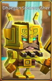 Dhaegon Stonecrusher default skin