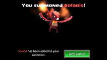 Solaris summoned