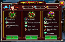Winterfest 2019 Jingle Pass door 1