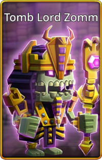 Tomb Lord Zomm skin