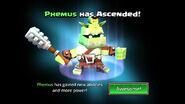 Phemus unascended