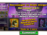 Archangel versus Dark Knight