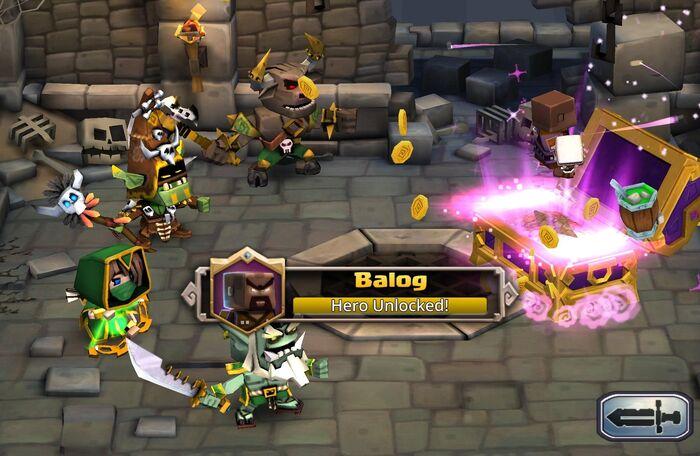 Balog bonanza hero unlock