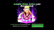 Jungle King Julius unascended
