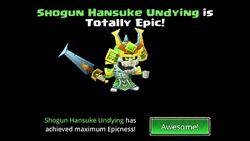 Shogun Hansuke Undying is totally epic