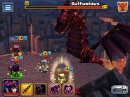 Sulfurious battle