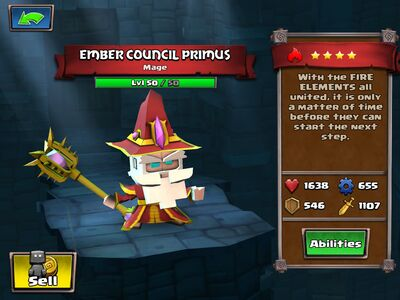 Ember Council Primus
