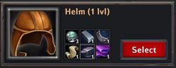 Recipe - Helm 1lvl