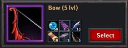 Recipe - Bow 5lvl