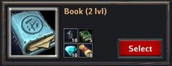Recipe - Book 2lvl