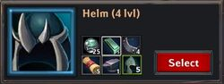 Recipe - Helm 4lvl