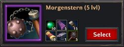 Recipe - Morgenstern 5lvl