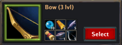 Recipe bow lv3