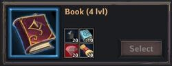 Recipe - Book 4lvl