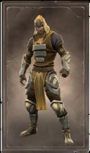 Polished goldleaf armor