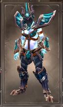 Masqued duskidol armor