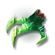 Veridian imp claws