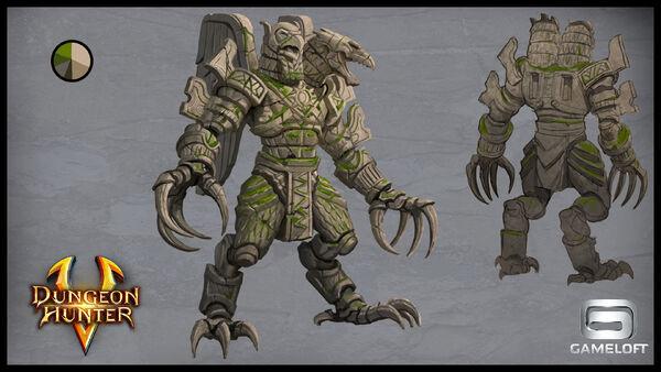 Concept arts bosses guardians