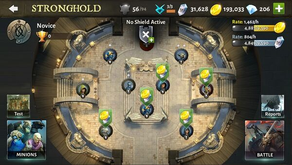 Dh5 stronghold
