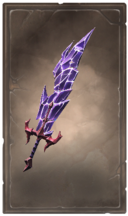 Malefic crystalmar greatsword