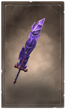 Baleful crystalmar greatsword
