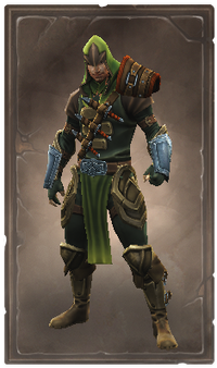 Treecoat armor