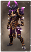 Horned crystalmar armor