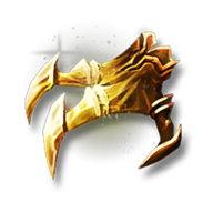 Golden imp claws