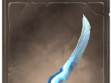 Bitterfrost Glaive