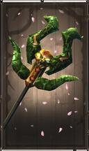 Envenomed serpenthorn staff