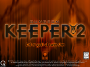 Dungeon Keeper 2 Title Screen Danish