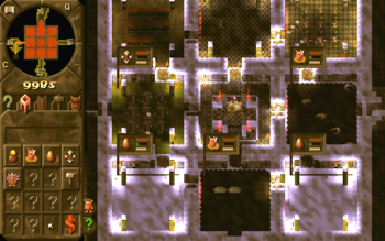 Dungeon Keeper Hearth prototype