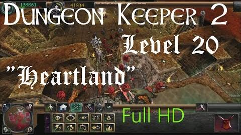 "Dungeon Keeper 2 (HD) - Final Level ""Heartland"" (includes secret dark angel)"