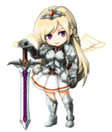 Lulu the White Princess detailed