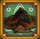 Incocspicious mountain