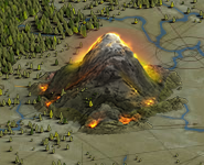 Mountain screen