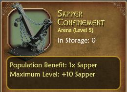 SapperConfinement