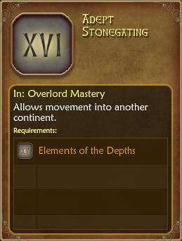 Adept Stonegating