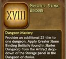 Greater Stone Binding