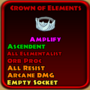 Crown of elements