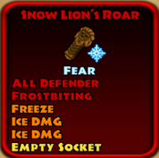 Snow Lion's Roar