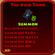 The void tome