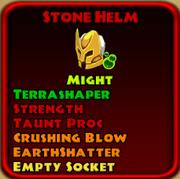 Stone Helm