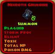 Necrotic Grimoire