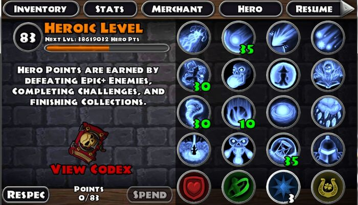 Heroic Skills