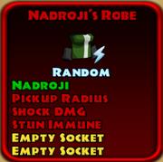 Naroji's Robe