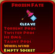 Frozen Fate