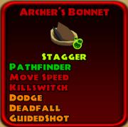 Archer's Bonnet3